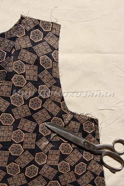 Платье без выкройки - подгонка
