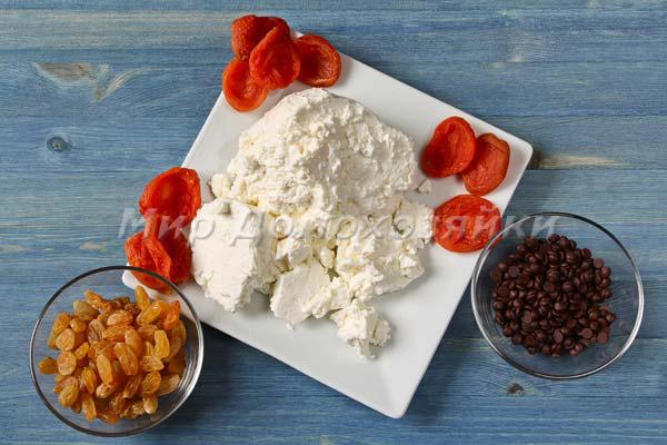 Сырник творожные - наполнители