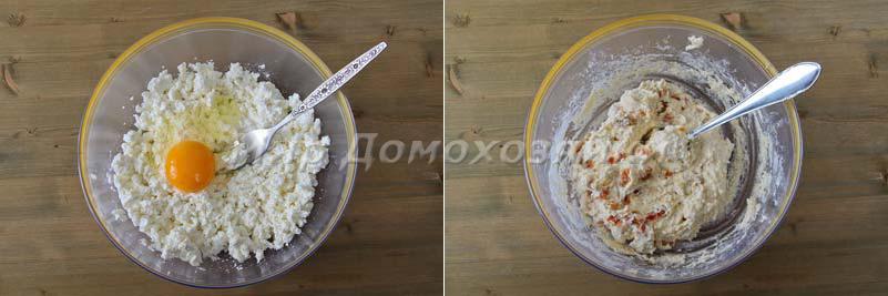 Сырники творожные - тесто
