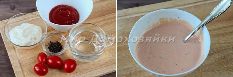 Томатный соус для котлет запеченных в духовке