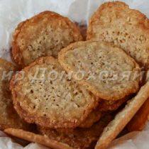 Печенье из геркулеса хрустящее