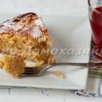 Яблочная шарлотка на сидре от Юлии Высоцкой