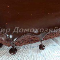 Шоколадный торт брауни