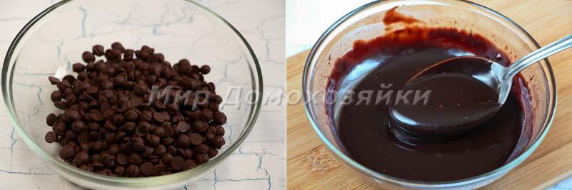 Глазурь для шоколадного торта брауни