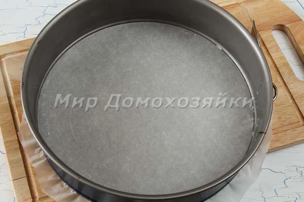 Как подготовить форму для выпечки
