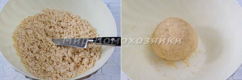 Пирог со щавелем и творогом - как сделать тесто