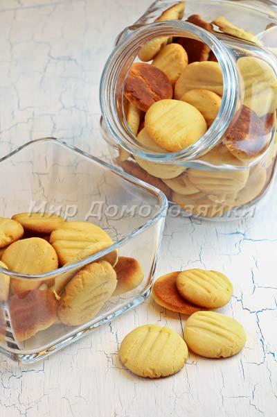Печенье со сгущенкой хранить в банке