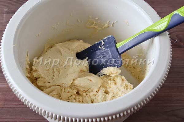 Печенье со сгущенкой - тесто
