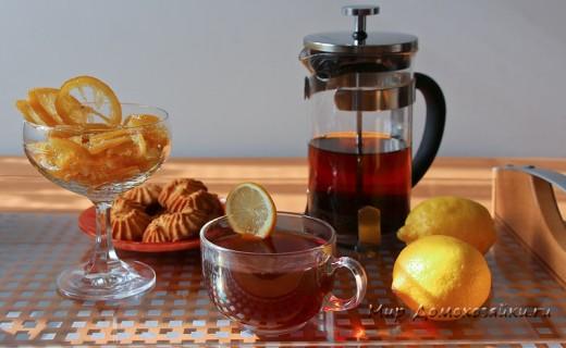 Цукаты из лимона - вкусный дессерт